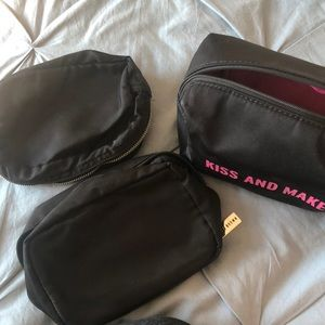 3 makeup bags-Kate Spade & Bobbi Brown
